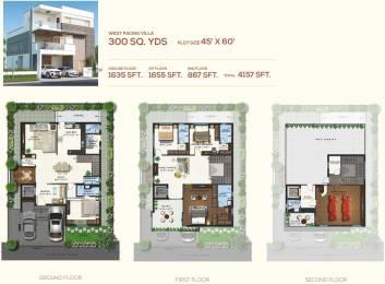 4157 sqft, 4 bhk Villa in Magna Majestic Meadows Kollur, Hyderabad at Rs. 0