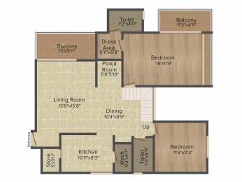 1690 sqft, 4 bhk Apartment in Applewoods Sorrel Shela, Ahmedabad at Rs. 0