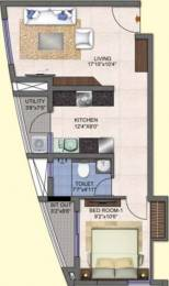 715 sqft, 1 bhk Apartment in Kolte Patil Mirabilis Horamavu, Bangalore at Rs. 0