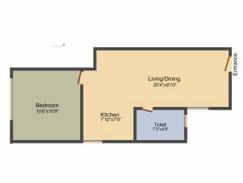 527 sqft, 1 bhk Apartment in Kolte Patil Mirabilis Horamavu, Bangalore at Rs. 0