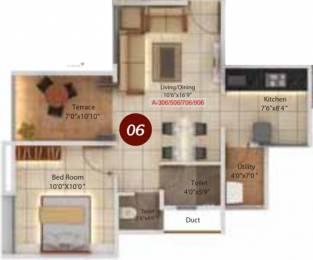 640 sqft, 1 bhk Apartment in Legacy Twin Arcs  Tathawade, Pune at Rs. 0