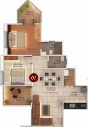 839 sqft, 2 bhk Apartment in Legacy Twin Arcs  Tathawade, Pune at Rs. 0