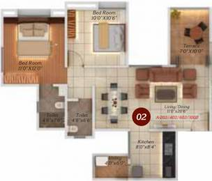 939 sqft, 2 bhk Apartment in Legacy Twin Arcs  Tathawade, Pune at Rs. 0