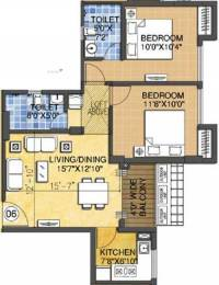 962 sqft, 2 bhk Apartment in Rungta Madgul Antaraa Joka, Kolkata at Rs. 0
