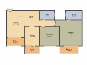 1277 sqft, 2 bhk Apartment in Ozone Greens Medavakkam, Chennai at Rs. 0