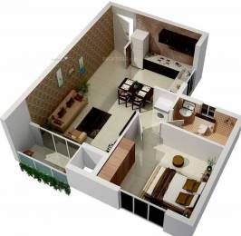 610 sqft, 1 bhk Apartment in KG Signature City Mogappair, Chennai at Rs. 0