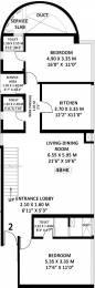 1762 sqft, 4 bhk Apartment in Godrej Platinum Vikhroli, Mumbai at Rs. 0
