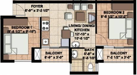 619 sqft, 1 bhk Apartment in Akshaya Today Thaiyur, Chennai at Rs. 0