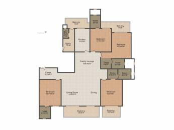 3150 sqft, 4 bhk Apartment in ATS Triumph Sector 104, Gurgaon at Rs. 0