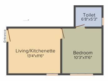 436 sqft, 1 bhk Apartment in Kolte Patil Mirabilis Horamavu, Bangalore at Rs. 0