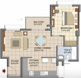 905 sqft, 1 bhk Apartment in Prestige Lakeside Habitat Varthur, Bangalore at Rs. 0