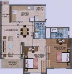 1223 sqft, 2 bhk Apartment in Purva Westend Begur, Bangalore at Rs. 0
