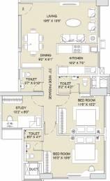 1405 sqft, 3 bhk Apartment in Sunteck City Avenue 2 Goregaon West, Mumbai at Rs. 0
