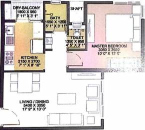 457 sqft, 1 bhk Apartment in Godrej City Woods Panvel Ph 1 Panvel, Mumbai at Rs. 0