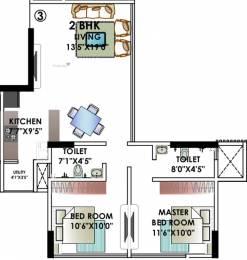 1065 sqft, 2 bhk Apartment in Kanakia Rainforest Andheri East, Mumbai at Rs. 0