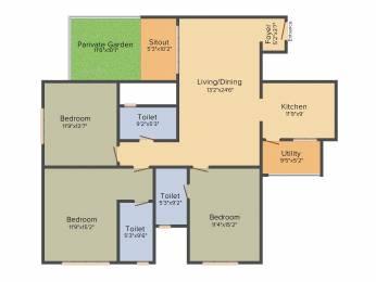 1536 sqft, 3 bhk Apartment in Sobha Avenue Kannamangala, Bangalore at Rs. 0