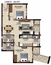 1264 sqft, 2 bhk Apartment in Salarpuria Sattva East Crest Budigere Cross, Bangalore at Rs. 0