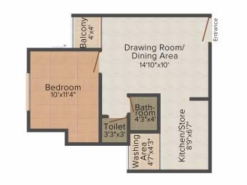 650 sqft, 1 bhk Apartment in Savvy Strata Makarba, Ahmedabad at Rs. 0