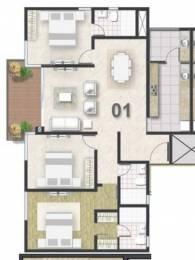 2625 sqft, 3 bhk Apartment in Shriram Southern Crest Kumaraswamy Layout, Bangalore at Rs. 0