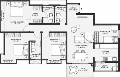 2259 sqft, 4 bhk Apartment in Bhartiya Nikoo Homes 2 Kannur on Thanisandra Main Road, Bangalore at Rs. 0