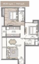 1516 sqft, 2 bhk Apartment in Piramal Vaikunth Cluster 1 Thane West, Mumbai at Rs. 0