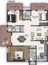 1765 sqft, 3 bhk Apartment in Raghuram A2A Life Spaces Sanath Nagar, Hyderabad at Rs. 0