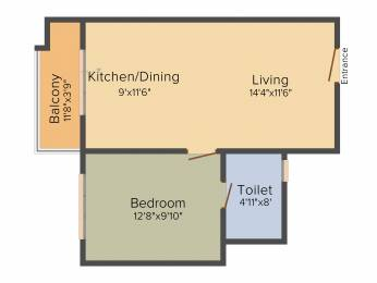 661 sqft, 1 bhk Apartment in Sobha Gateway Of Dreams Varthur, Bangalore at Rs. 0