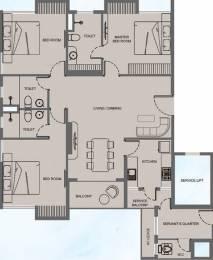 1722 sqft, 3 bhk Apartment in Mani Megh Mani Kasba, Kolkata at Rs. 0