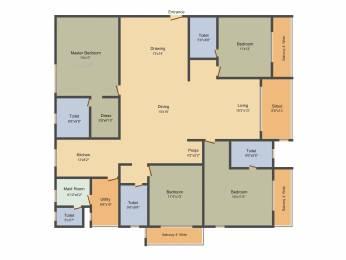 2960 sqft, 4 bhk Apartment in Salarpuria Sattva Magnus Shaikpet, Hyderabad at Rs. 0