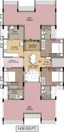 1436 sqft, 3 bhk Apartment in Radiance Empire Perambur, Chennai at Rs. 0