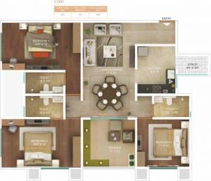 1463 sqft, 3 bhk Apartment in Amar Serenity Pashan, Pune at Rs. 0