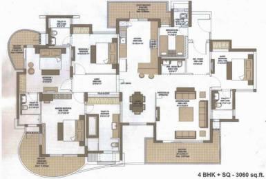 3060 sqft, 4 bhk Apartment in Microtek Greenburg Sector 86, Gurgaon at Rs. 0