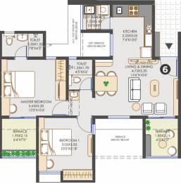 917 sqft, 2 bhk Apartment in Vilas Javdekar Yashwin Hinjawadi Hinjewadi, Pune at Rs. 0