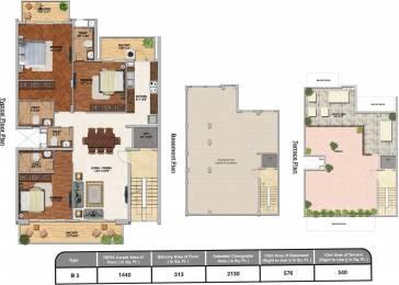 3046 sqft, 3 bhk Apartment in Adani Brahma Samsara Sector 60, Gurgaon at Rs. 0
