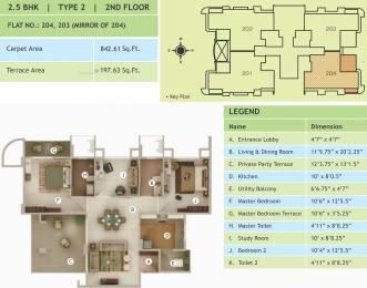 1203 sqft, 2 bhk Apartment in Rucha Vantage Baner, Pune at Rs. 0