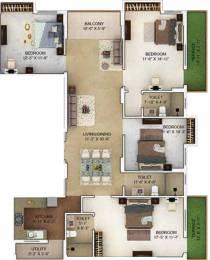2070 sqft, 4 bhk Apartment in Merlin Verve Tollygunge, Kolkata at Rs. 0