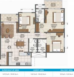 1670 sqft, 3 bhk Apartment in Brigade Buena Vista Phase 2 Budigere Cross, Bangalore at Rs. 0