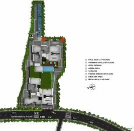 993 sqft, 2 bhk Apartment in Salarpuria Amarana Residences Tangra, Kolkata at Rs. 0