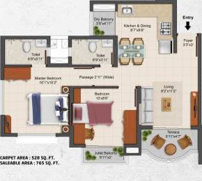 765 sqft, 2 bhk Apartment in TATA La Montana Talegaon Dabhade, Pune at Rs. 0