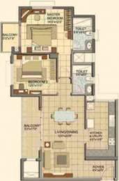 1394 sqft, 2 bhk Apartment in Prestige Lakeside Habitat Varthur, Bangalore at Rs. 0