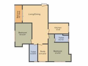 1270 sqft, 2 bhk Apartment in Mani Shankhmani Tollygunge, Kolkata at Rs. 0