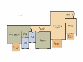 1276 sqft, 2 bhk Apartment in TATA La Vida Sector 113, Gurgaon at Rs. 0