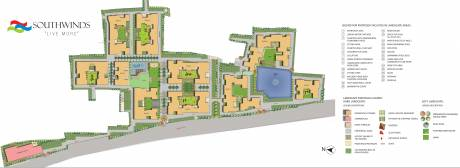 1183 sqft, 2 bhk Apartment in Primarc Projects and Srijan Realty and Riya Group Southwinds Sonarpur, Kolkata at Rs. 0