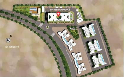 976.82 sqft, 3 bhk Apartment in Shapoorji Pallonji Residency Phase III Hadapsar, Pune at Rs. 0