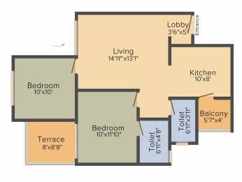 904 sqft, 2 bhk Apartment in Pristine Prolife Wakad, Pune at Rs. 0