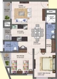 1185 sqft, 2 bhk Apartment in Kolte Patil Mirabilis Horamavu, Bangalore at Rs. 0