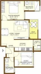 933 sqft, 1 bhk Apartment in Bhartiya Nikoo Homes Kannur on Thanisandra Main Road, Bangalore at Rs. 0