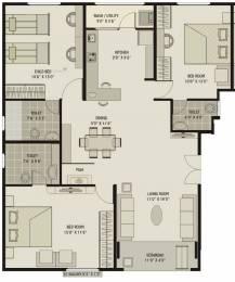 1775 sqft, 3 bhk Apartment in Shagun Classic Bodakdev, Ahmedabad at Rs. 0