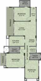 1767 sqft, 3 bhk Apartment in Kalpataru Serenity Manjari, Pune at Rs. 0