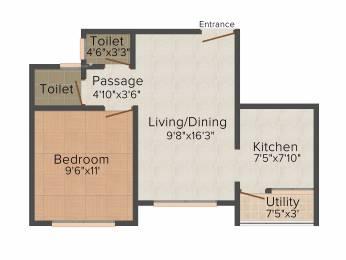 649 sqft, 1 bhk Apartment in Adani Pratham Near Nirma University On SG Highway, Ahmedabad at Rs. 0